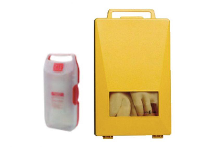 Coffret plastique pour gants